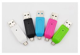 external smart card reader Australia - High Speed Computer Phone Card reader multi-function USB Micro USB TF SD Card reader For Camera Card reader XiaoMi LeTV Samsung Smart Phone