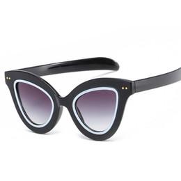 Sexy Cat Eye Sunglasses Women Black Leopard Sun Glasses Superstar Branded Cateye  Points Shades UV400 Retro Coating Mirror Oculos e96559f4eb