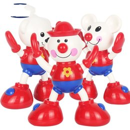 Small cartoon couple online shopping - Wriggle Toy Small Bear Buffoon Mouse Animal Twisting Baby Gift Hand Couple Small Learning Education Plastic Morning Exercises al V