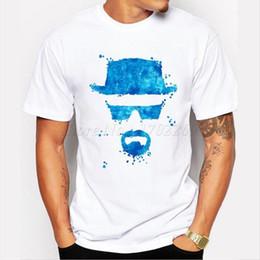 Broken Bad Australia - Camping Hiking T-Shirts Men's Fashion Breaking Bad T Shirt Heisenberg 3D Printed shirt Walt White Short Sleeve Tee Hipster Hot Sale Top