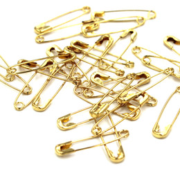 Pino de segurança de alta qualidade 1700 pcs ouro prata bronze preto pinos de segurança para etiquetas de vestuário pinos comprimento (19mm)