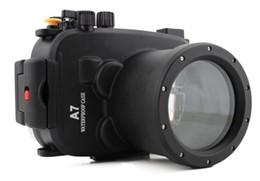 $enCountryForm.capitalKeyWord Australia - Meikon Waterproof Underwater Housing Camera bag Diving Case for Sony A7 A7 A7r A7s 28-70mm Lens