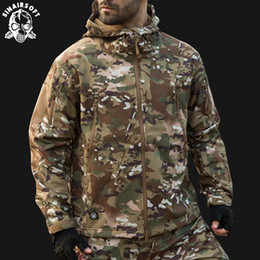 $enCountryForm.capitalKeyWord Australia - SINAIRSOFT 2018 Hunting clothes Outdoor Shark Skin Tactical millitary Softshell Jacket Suit Men Waterproof Combat Jacket