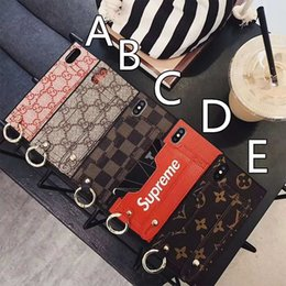 $enCountryForm.capitalKeyWord NZ - One Piece Luxury Brand High Quality English Alphabet Belt Holder Stand Phone Case for Iphone X 7 8 Plus Card Pocket PU Leather Case Shell