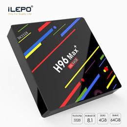 $enCountryForm.capitalKeyWord Australia - H96 MAX Plus TV BOX Rockchip RK3328 Quad Core Android 8.1 TV Box 4GB 64GB ROM Smart Tv 2.4 5G Wifi H.265 Media Player