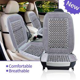 $enCountryForm.capitalKeyWord NZ - Natural Wood Bead Seat Cushion Auto Car Home Chair Cover Tan Beaded Office Chair bSeat Cover