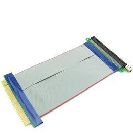 Опт pci-e x1 unpower x16 до 16x riser Card Flex гибкая лента биткойн-майнинг