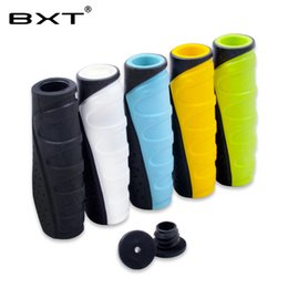 Bicycle Road Grips Australia - 2018 BXT durable mtb mountain bike handlebar grips lock handle grip bar end rubber handle bar cover bicycle parts accessories