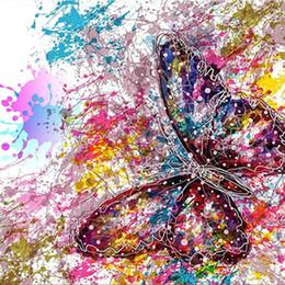$enCountryForm.capitalKeyWord UK - beautiful butterfly diamond painting 5d diy Cross Stitch diamond Embroidery Full Square Diamond Mosaic art wall decoration crafts Christmas