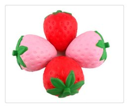 $enCountryForm.capitalKeyWord NZ - BestSelling Jumbo Squishies Strawberry Kawaii Squishy Slow Rising Pendant Phone Straps Charms Kid Toys Cute Squishies Ice Cream Phone Charms