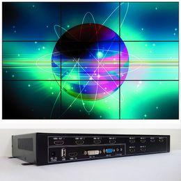 Großhandel Videowandprozessor für 3x3 Videowandanzeige dvi hdmi vga eingang 9 hdmi ausgang