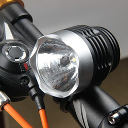 $enCountryForm.capitalKeyWord Australia - Hot Sell 3W LED Bicycle Light 800 Lumens Waterproof Bike Headlamp Cycling Headlight Tail Bicycle LED Safety Warning Light