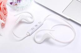 Wireless usb music headphones online shopping - 2018 Bluetooth Headphones Sport Wireless Headset Hook Stereo Music Player Neckband Earphones Jogging Headphones With Retail Box