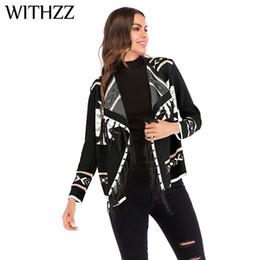 $enCountryForm.capitalKeyWord NZ - WITHZZ Women's Autumn Winter Geometric Pattern Tassel Wild Knit Cotton Sweater Cardigan Female Jacket for Women Gothic Top Coat