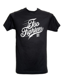 Cheap Hot Summer Clothes NZ - summer Hot Sale FOO FIGHTERS SCRIPT LOGO Official Licensed T-Shirt New Tees Men Hot Cheap Short Sleeve Male Men's Clothing