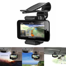 Car Rearview Mirror Mount Auto Holder Stand Cradle For Cell Phone GPS Universal