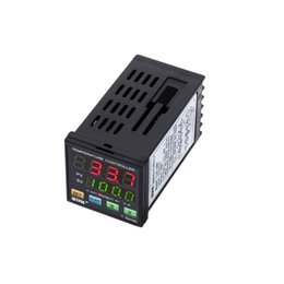 Digital LED PID Temperature Controller Thermal Regulator Dual LED Display Thermocouple Diagnostic-tool SNR 1 Alarm Relay Output