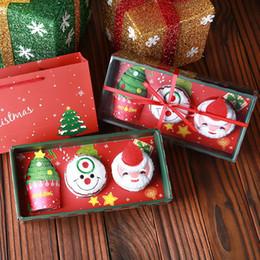 $enCountryForm.capitalKeyWord Australia - 3pcs Merry Christmas Gift Chris Cupcake Cotton Towel New Year Decoration Christmas Decorations for Home Kids Children 30x30cm Free shipping