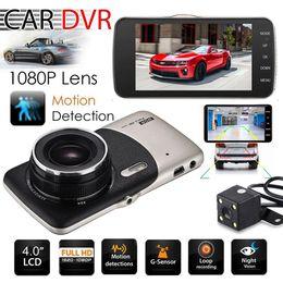 Gps Hd Australia - 2018 Dual Lens Camera HD Car DVR Dash Cam Video Recorder G-Sensor Night Vision 3 Years Warranty 24H Dispatch 30-Day Money Back