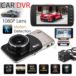 night vision zoom NZ - 2019 Dual Lens Camera HD Car DVR Dash Cam Video Recorder G-Sensor Night Vision 3 Years Warranty 24H Dispatch 30-Day Money Back