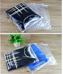 $enCountryForm.capitalKeyWord Australia - 18 sizes 20pcs clear garment cloth packing plastic bag ziplock plastic bag cloth garment with zipper