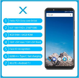 $enCountryForm.capitalKeyWord NZ - VERNEE X MT6763 Octa Core Mobile Phone 6.0 Inch 18:9 FHD+ 4GB RAM 64GB ROM Android 7.1 16MP Four Camera OTG 6200mAh Fingerprint Mobile phone