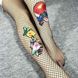 GraceQueen pantynose Strumpf Tops Oberschenkel sexy Mesh mit Stickerei lange Socken über Leggings Strumpf Sex Womensocks für High Heels im Angebot