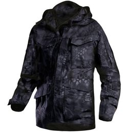 c46637e1f79cb Mege Brand M65 Military Camouflage Male Clothing US Army Tactical Men's  Windbreaker Hoodie Field Jacket Outwear Casaco Masculino