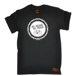 $enCountryForm.capitalKeyWord Australia - No Gears No Fear Mens Rltw T Shirt Tee Cyclinger Cyclist Bicycle Birthday Gift Summer New Men Cotton T Shirt Top Tee