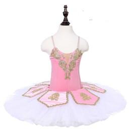 $enCountryForm.capitalKeyWord Australia - Kids Pink White Christmas Dance Tutu Dress Sleep Beauty Children Performance Ballerina Stage Costume Ballet Tutu Nutcracker For Girls