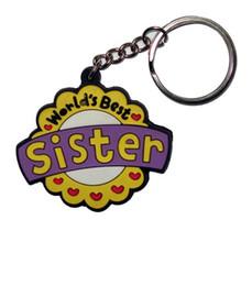 Car logo led online shopping - 2018 HOT Selling Key Chains Custom D Cute Cartoon Mother s Day Logo Key Tag Soft PVC Rubber