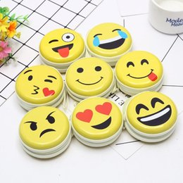 $enCountryForm.capitalKeyWord NZ - 7CM Face Emoji Gift Metal keys BAG Coin Holder Case for Children Boys Girls Headset bag