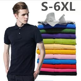 $enCountryForm.capitalKeyWord NZ - embroidery Polo Shirt Men Polos Para Hombre Men Clothes 2018 Male Polo Shirts Casual Short Sleeve Cotton Solid