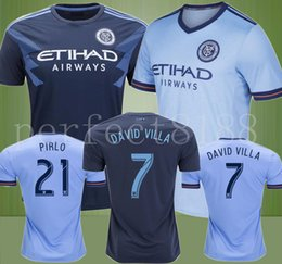 $enCountryForm.capitalKeyWord Canada - 2018 New York City MLS Soccer Jersey Football Shirts 18 19 NYC Home PIRLO Camiseta de futbol David Villa Maglie football shirt uniform