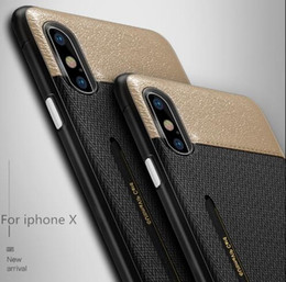 $enCountryForm.capitalKeyWord NZ - Luxury Fabric Skin Cell Phone Case Credit Card Slots Holder Soft Silicone Hard PC Cases for iphone X 7 8 6 6S plus