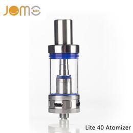 China Wholesale-JOMOTECH Pyrex Glass 4ml Rebuildable Vaporizer 0.5ohm 510 Thread Atomizer for All Lite 40 Tank Electronic Cigarette Kit Jomo-72 cheap jomo tank suppliers