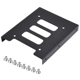 Wholesale quot to quot SSD HDD Metal Adapter Mounting Bracket Hard Drive Holder for PC