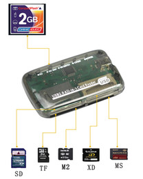 $enCountryForm.capitalKeyWord Australia - Quevinal 6 in 1 card reader SD MMC XD SM MS CF MD Memory Multi in one USB2.0 Smart media card reader new