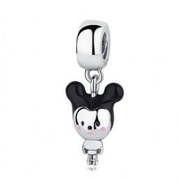 $enCountryForm.capitalKeyWord UK - 2018 New Authentic 925 Sterling Silver Beads Mixed Enamel Boy Cartoon Mouse Pendant Charm Fit Original Pandora Bracelet Bangle DIY Jewelry