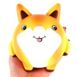 fox toys children UK - Squishy Cartoon Cute Fox Scented Cream Slow Rising Squeeze Decompression Toys For Children Adults Relieves Stress Anxiety Decor