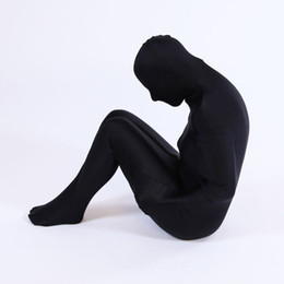 spandex zentai mummy NZ - Fancy Dress Party Kid Adult Mummy Unisex Halloween Lycra Spandex Skin Zentai Costumes Bodysuit