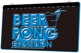 Motion Games Canada - LS662-b-Beer-Pong-Champion-Bar-Game-Neon-Light-Sign.jpg Decor Free Shipping Dropshipping Wholesale 8 colors to choose