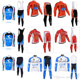 32a595399 CCC COFIDIS COLNAGO CUBE cycling jersey sport suit mountain bike ropa  ciclismo bicycle clothing 3D gel pad Bib pants sets F2122