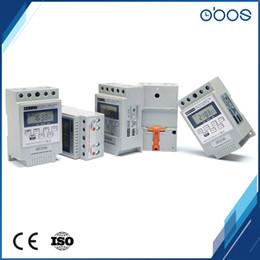 Interrupteur de minuterie de 240VAC minuterie de lumière programmable numérique avec 10 fois on / off par jour minuterie définie plage 1min-168H