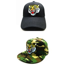 cdc7288835b4a LDSLYJR 2018 tiger embroidery cotton Baseball Cap hip-hop cap Adjustable  Snapback Hats for kids and adult size 72