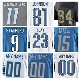 2019 Detroit Matthew Stafford jersey Lions Miles Killebrew Eric Ebron american  football jerseys elite game mens womens youth kids cheap 5xl c67124267
