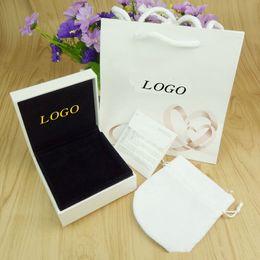 $enCountryForm.capitalKeyWord NZ - Fashion Beautiful box Branded famous P letter brand bracelet package set original handbag and velet bag jewelry gift box Free shipping