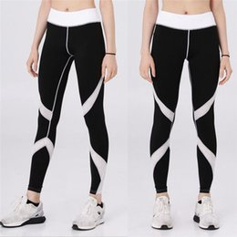 $enCountryForm.capitalKeyWord NZ - 2018 Summer Spring High Waist Women's Sports Yoga Workout Gym Fitness Leggings Exercise Athletic Pants ropa mujer Plus Size
