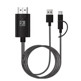 Hdmi cable Huawei online shopping - 3 in MHL HDMI Cable For Samsung A7 J5 IP8 type c3 Huawei Micro USB To HDMI Cable Adapter HDTV TV Connector