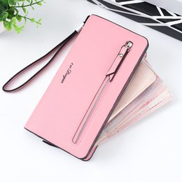 phone wallet case men Canada - S W Dvogan Long Women Wallet female Clutch Purse Large Capacity Card Holder Phone Zipper Coin Purse Money Case Men Wallets